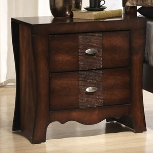Northlake 2 Drawer Nightstand by Darby Home Co
