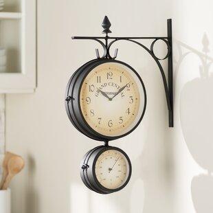 14 Bracket Wall Clock by Charlton Home