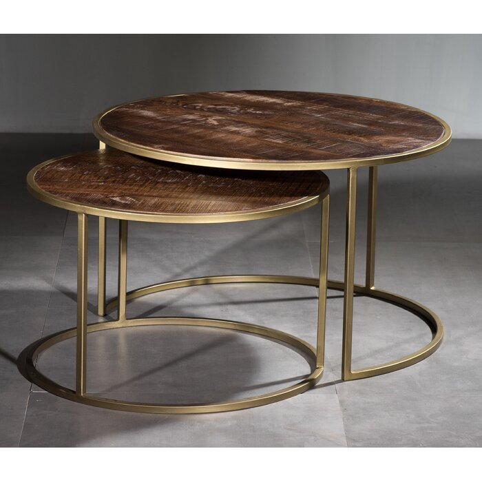 Daxton 2 Piece Coffee Table Set