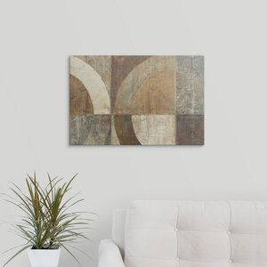 'Circular Sculpture' Wall Art on Wrapped Canvas by Great Big Canvas