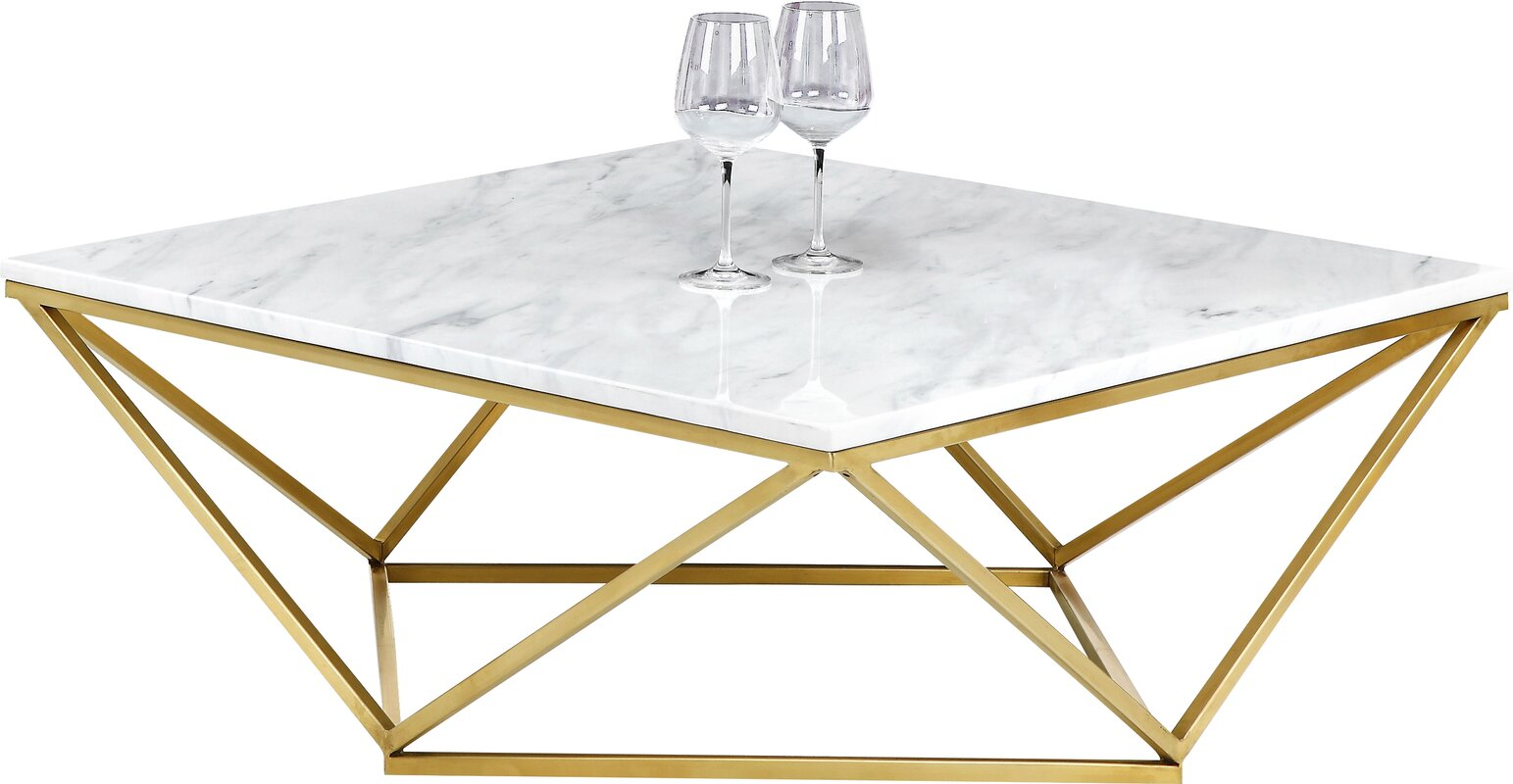 Robeson Marble Coffee Table
