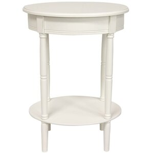 Adelphi Oval End Table by Charlton Home