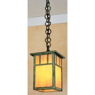 Compare Huntington 1-Light Outdoor Hanging Lantern By Arroyo Craftsman