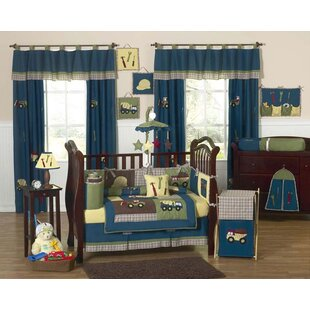 Affordable Price Construction Zone 9 Piece Crib Bedding Set By Sweet Jojo Designs