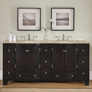 Look for Camdyn 72 Double Bathroom Vanity Set ByDarby Home Co