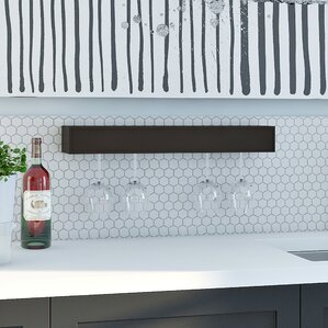 Banda 6 Bottle Wall Mounted Wine Rack by Mercury Row