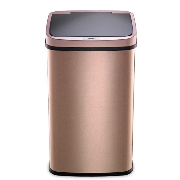 Rose Gold Kitchen Trash Can | Wayfair