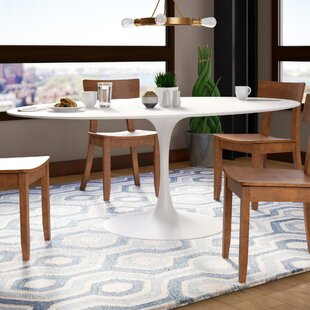 Charmant Larkson White Dining Table