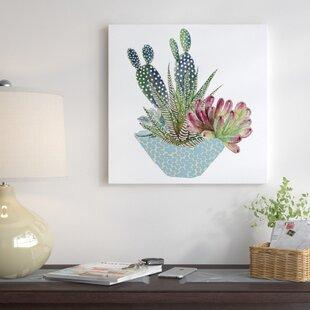 cactus wall art you ll love wayfair