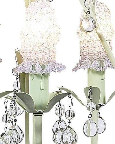 Pear 3-Light Shaded Chandelier