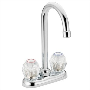 Moen Chateau Double Handle Kitchen Faucet