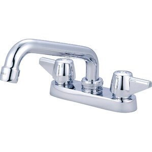 Central Brass Double Handle Centerset Bar/Laundry Faucet