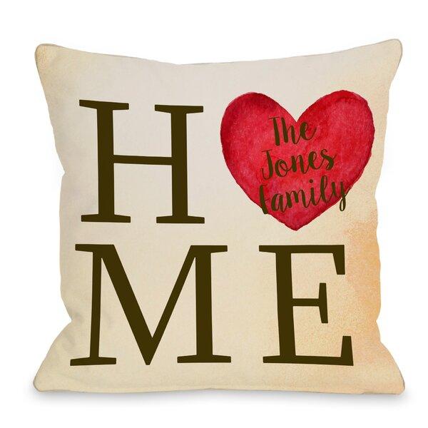 Monogram pillows youll love wayfair
