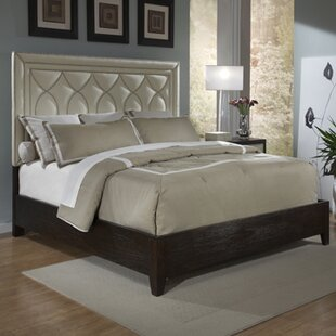 Manhattan King Upholstered Panel Bed by Ambella Home Collection