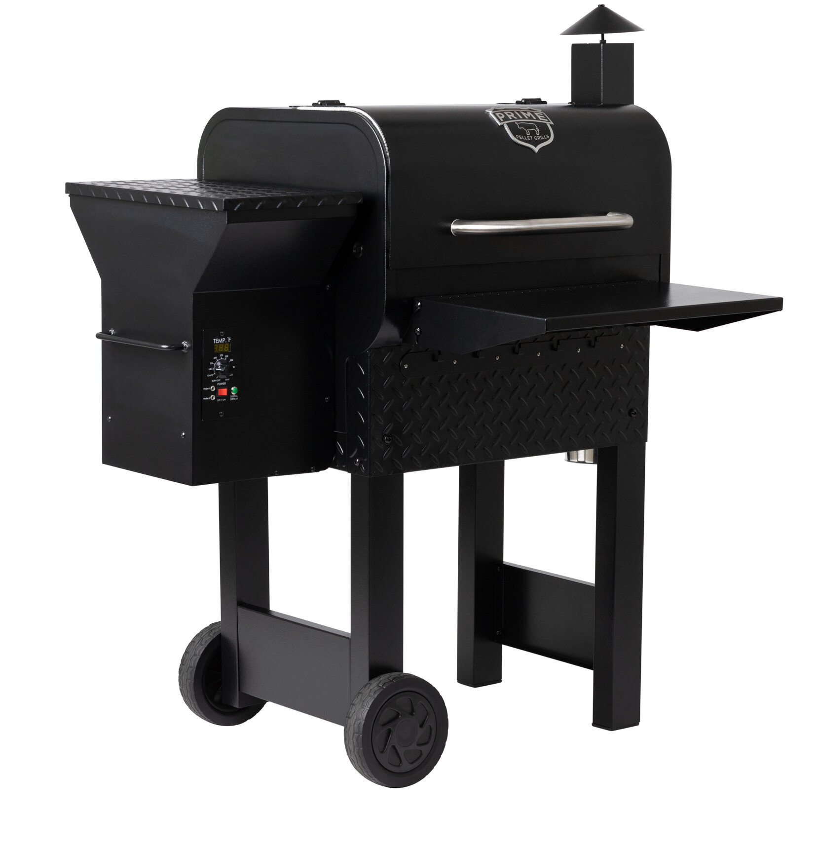 Z GRILLS Pro Pellet Grill and Smoker in Black