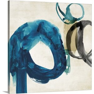 Ring I by PI Galerie Painting Print on Wrapped Canvas by Great Big Canvas
