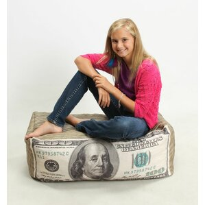 Money Inflatable Bean Bag Chair by Wow Works LLC