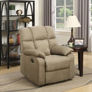 Sienna Brunswick Manual Recliner by Latitude Run