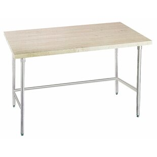 Prep Table with Wood Top by A-Line Advance Tabco