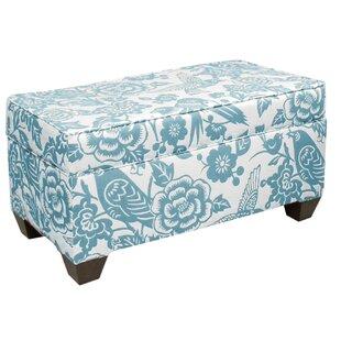 Best Fabric Storage Bench By Skyline Furniture Accent Furniture