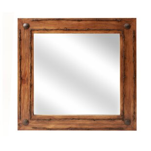 Top Lafollette Old Ranch Bathroom/Vanity Mirror ByLoon Peak