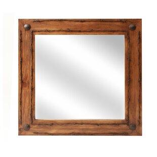 Compare prices Lafollette Old Ranch Bathroom/Vanity Mirror ByLoon Peak