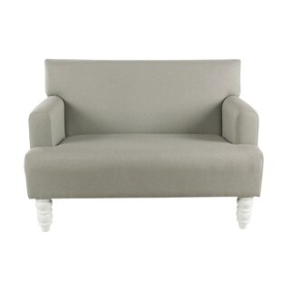 Acuna Kids Faux Leather Loveseat