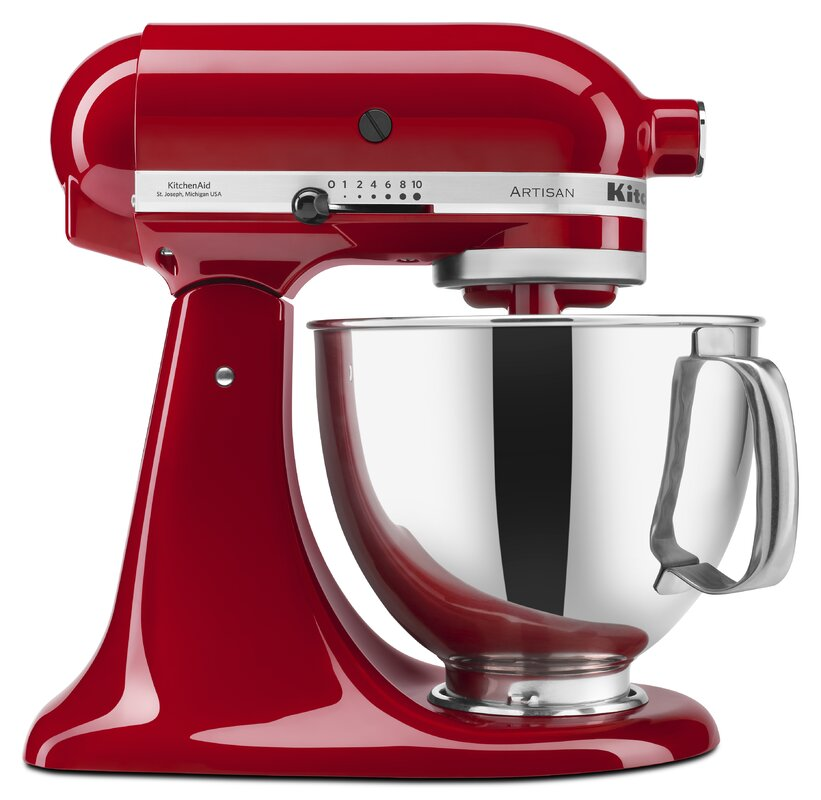 KitchenAid Artisan 5 Qt. Stand Mixer with Pouring Shield