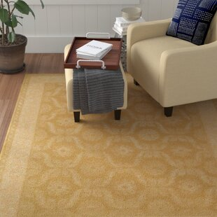 Affordable Price Reid Gold Rug By Red Barrel Studio