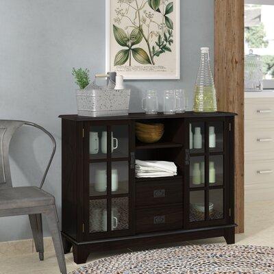 Fabulous Gracie Oaks Dule 2 Drawer 2 Door Accent Cabinet Color Espresso Dailytribune Chair Design For Home Dailytribuneorg
