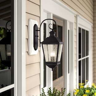 Bargain Hillside 2-Light Outdoor Wall Lantern By Birch Lane™