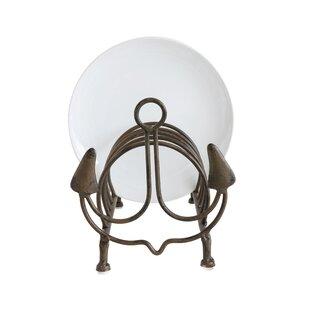 Metal Anchor Dining Plates Storage Rack