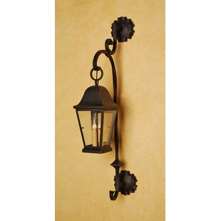 Best Reviews Berkeley 3-Light Outdoor Wall Lantern By Laura Lee Designs