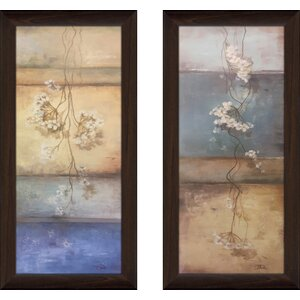 'Meditation I' 2 Piece Framed Print Set by Red Barrel Studio