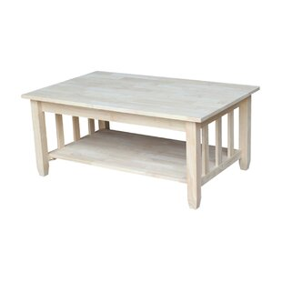 Lynn Mission Coffee Table with Lift Top