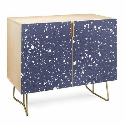 Emanuela Stardust Accent Cabinet East Urban Home Color: Birch/Blue
