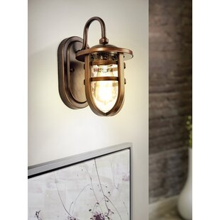Best Price Camron Outdoor Wall Lantern By Longshore Tides