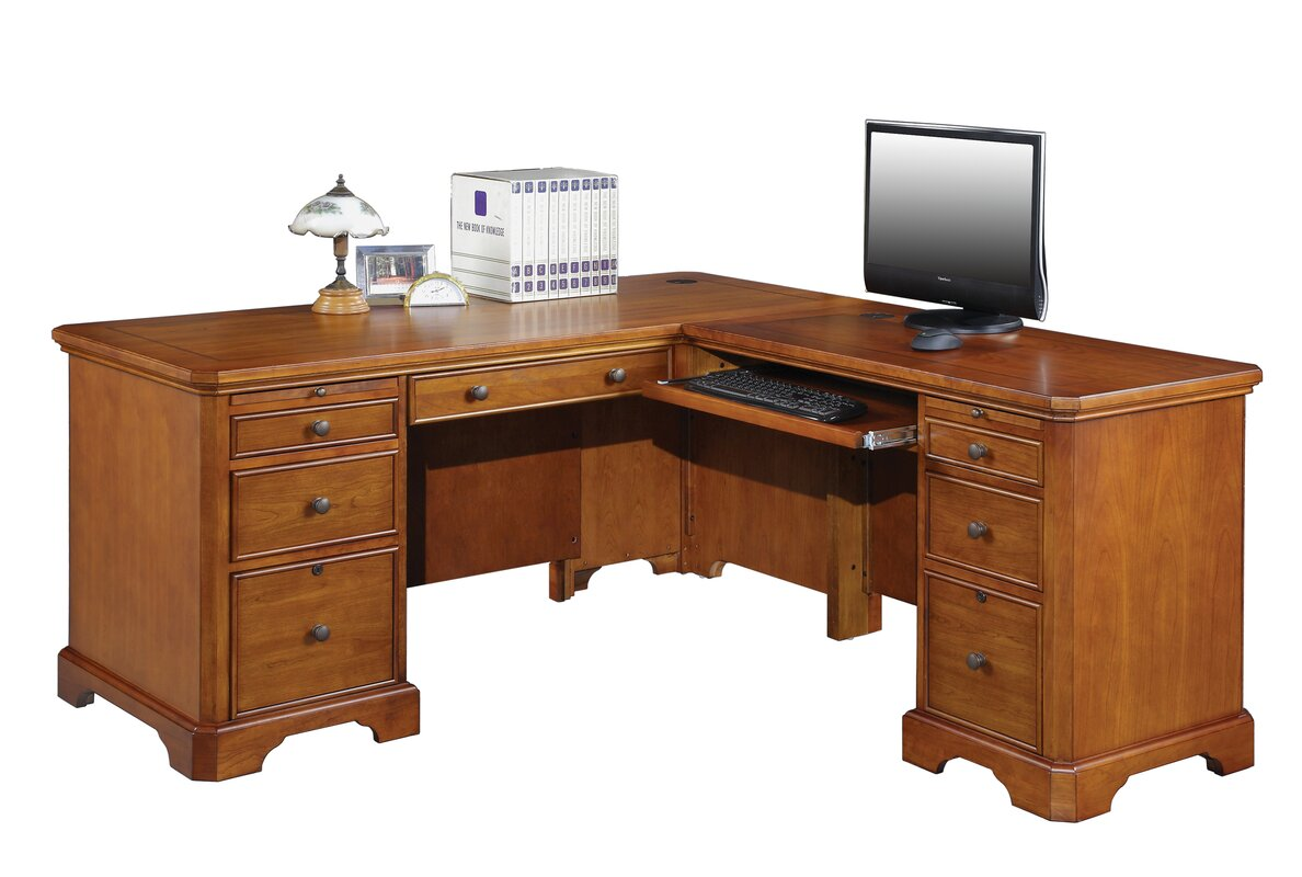 Chester Lshape Executive Desk & Reviews  Birch Lane. Small Craft Table. Blue Buffet Table. Triangle Shaped Dining Table. Over The Desk Com. Cool Bedside Tables. Stereo Table. King Captains Bed With Drawers. Custom Table Cloths