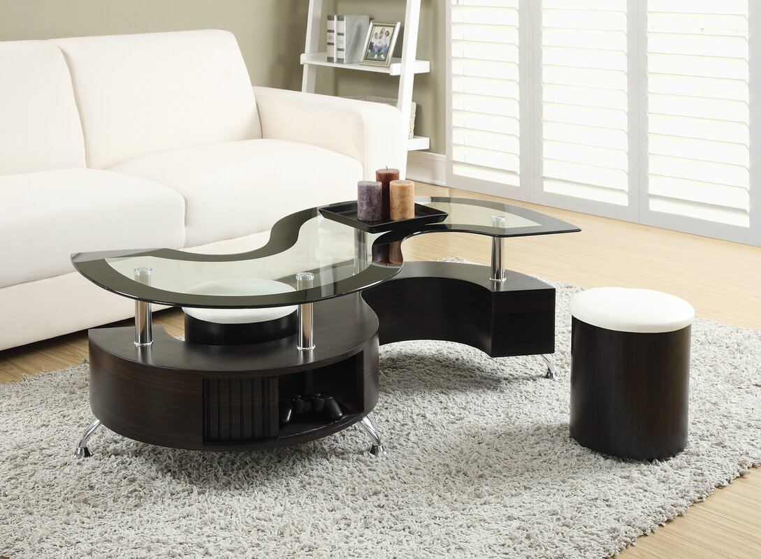 living room table set. Milivoje 3 Piece Coffee Table Set Orren Ellis  Reviews Wayfair