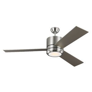 56″ Ossu 3 Blade LED Ceiling Fan