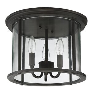 Compare & Buy Arshan 3-Light Outdoor Flush Mount By Gracie Oaks