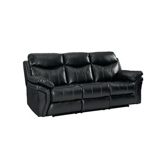 Broxton Reclining Sofa Red Barrel Studio