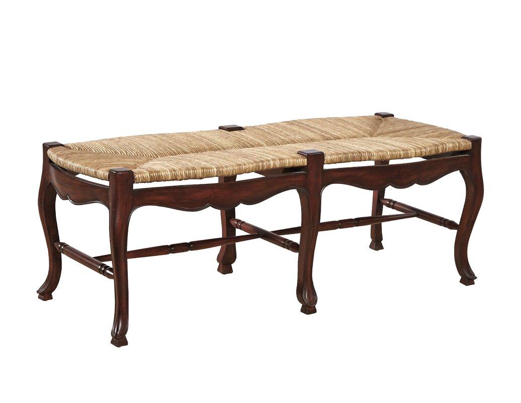 Furniture Classics LTD French Country Mahogany Dining Bench - French country bench