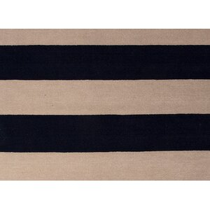 Sand Hill Wool Hand-Tufted Blue/Ivory Area Rug