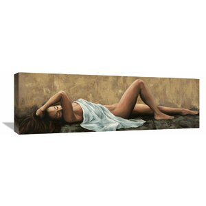 'Pensiero' by Romeo Painting Print on Wrapped Canvas by Global Gallery