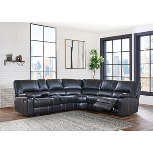Tasia Stitched Detailed Reclining Sectional