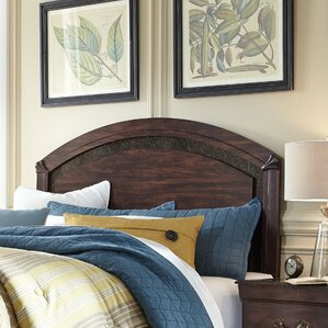 Budde Panel Headboard by Three Posts