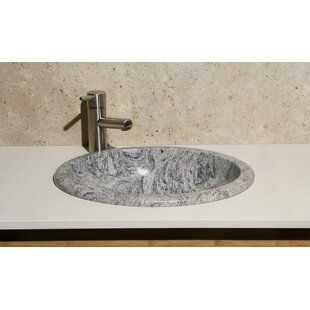 Meridian Stone Oval Drop-In Bathroom Sink ByAllstone Group