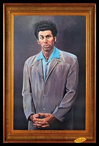 Buy Art For Less Cosmo Kramer Portrait Seinfeld Tv Show