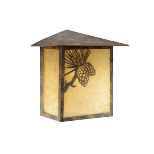 Affordable Price Josefina 1-Light Outdoor Flush Mount By Loon Peak